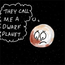 poor pluto online drawing game comic strip panel